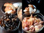Gà hấp nấm cho bữa ăn đầm ấm