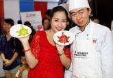 Ốc Thanh Vân thích tự chăm con từng bữa