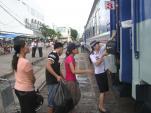 Đường sắt tiếp tục giảm giá vé theo giá xăng