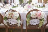 Làm điệu cho ghế ngồi trong tiệc cưới