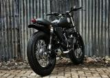 Bản độ Yamaha Scorpio đen tuyền ấn tượng