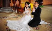 Sao Việt khéo chọn váy cưới gợi cảm và hợp thời tiết