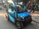 Khám phá ô tô điện giá rẻ mới xuất hiện ở Hà Nội