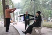 Người cao tuổi vui xuân chớ quên tập luyện