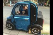 Ôtô điện giá 70 triệu đồng lăn bánh ở Hà Nội