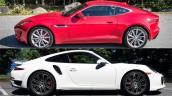 Siêu xe Porsche 911 đọ cá tính cùng Jaguar F-type