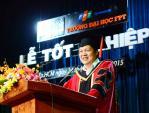 """Hiệu trưởng ĐH FPT khuyên các cử nhân """"đừng mơ giấc mơ của người khác"""""""