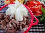 Bò hầm cà chua cho bữa cơm thêm ấm