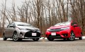 Honda Fit 2015, Toyota Yaris 2015 đọ sức nhỏ gọn
