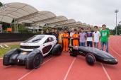 Xe năng lượng mặt trời chế tạo bằng máy in 3D