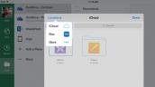 Office cho iOS hỗ trợ lưu file trên iCloud Drive