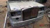 """Cận cảnh chiếc xe """"đồng nát"""" hóa Rolls-Royce Phantom ở Bắc Giang"""