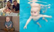 Bơi lội cứu sống bé sơ sinh bị tim bẩm sinh