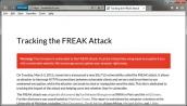 Cách kiểm tra máy tính Windows có dính lỗi bảo mật Freak