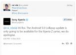Sony: Chỉ smartphone, tablet Xperia Z mới được lên Android 5.0?