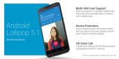 Google phát hành Android 5.1 cho thiết bị Nexus, hỗ trợ 2 SIM