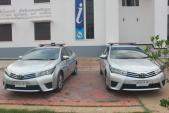 Toyota Altis 2015 là xe chuyên dụng của Cảnh sát du lịch Thái