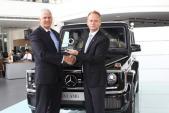 Mercedes-Benz trao giải Dịch vụ hậu mãi xuất sắc