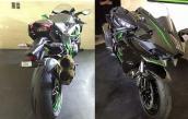 Siêu môtô tiền tỷ Kawasaki H2 bất ngờ xuất hiện tại VN
