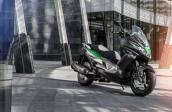 Kawasaki chuẩn bị tung ra xe ga mới