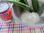 Làm chè trôi nước ngũ sắc từ sữa hoa quả