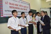 Trao 10.000 USD học bổng Mitshubishi cho sinh viên