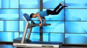 Hot boy nhảy trên máy chạy bộ khiến phái nữ liêu xiêu