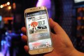 nhacSO ra mắt phiên bản đặc biệt dành cho Samsung Galaxy S6 Edge