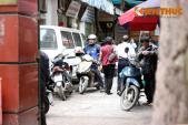 Xe máy vây xe cấp cứu ở BV Nội tiết - bài toán khó