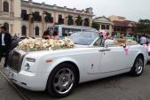 Hình ảnh siêu xe Rolls-Royce 30 tỷ rước dâu tại Nam Định