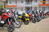 Dàn môtô Ducati trèo đèo, lội suối thiện nguyện Sơn La