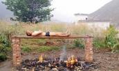 Chàng trai tự đốt mình vì muốn dùng lửa chữa ung thư