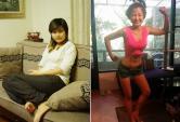 Cô gái giảm 84% lượng mỡ trong cơ thể sau 90 ngày