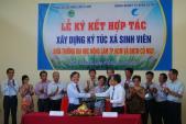 Tài trợ xây ký túc xá cho sinh viên ĐH Nông Lâm TP HCM