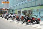 """Hàng chục xế """"khủng"""" Harley rầm rộ tụ hội tại Sài Gòn"""