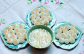 Tết Hàn thực chị em chia sẻ bánh trôi đẹp lung linh