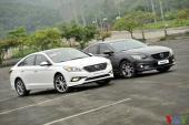 """Đánh giá Hyundai Sonata - Mazda6 : """"Kẻ tám lạng, người nửa cân"""""""