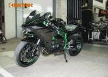 Loạt siêu môtô Ninja H2 tiền tỷ đã về đến Việt Nam