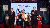 Hai sản phẩm phần mềm của Tinh Vân được trao danh hiệu Sao Khuê 2015