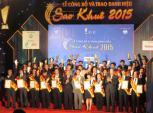 Sao Khuê 2015 vinh danh 67 sản phẩm, dịch vụ xuất sắc nhất