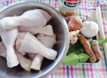 Đùi gà chiên nước cốt dừa cho ngày lễ