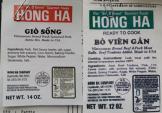 Mỹ thu hồi loạt giò sống có nguồn gốc từ Việt Nam