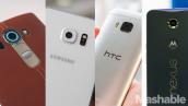 So sánh LG G4 với Samsung Galaxy S6 và HTC One M9 và Motorola Nexus 6