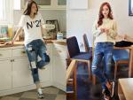 Hút ánh nhìn với 5 xu hướng jeans mới nhất trong hè