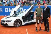 """Andy Murray """"ẵm"""" BMW i8 ngay khi vô địch BMW Open 2015"""