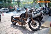 """""""Đổi gió"""" với Yamaha Virago độ Bobber của biker Hà Thành"""
