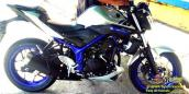 Chưa ra mắt, Yamaha MT-25 đã bị Stunter lôi ra
