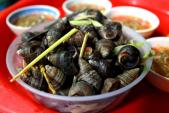 Sai lầm khi ăn ốc luộc