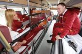 Những chiếc xe giường nằm sang chảnh nhất hành tinh