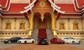 Dàn siêu xe của đại gia Lào khiến dân chơi Việt thèm thuồng